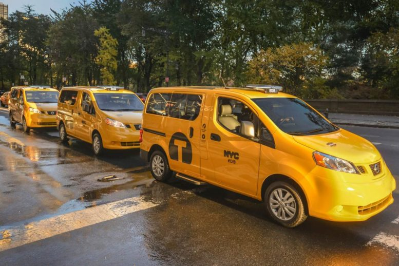 GearDiary 2014 Nissan NV200 Taxi of Tomorrow Is Here Today
