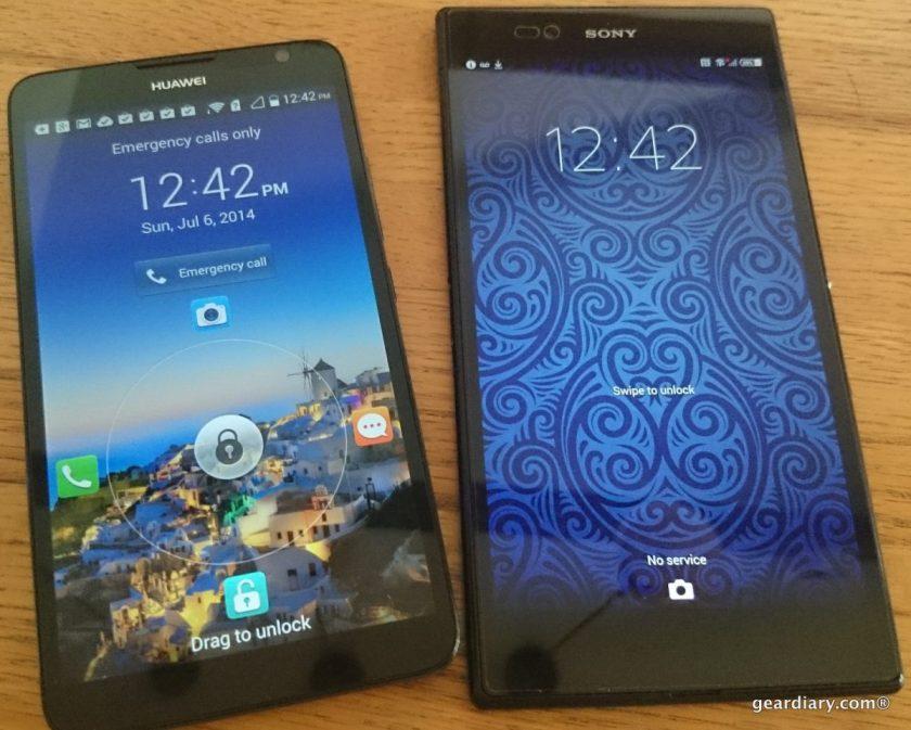 geardiary Huawei ascend mate2.05