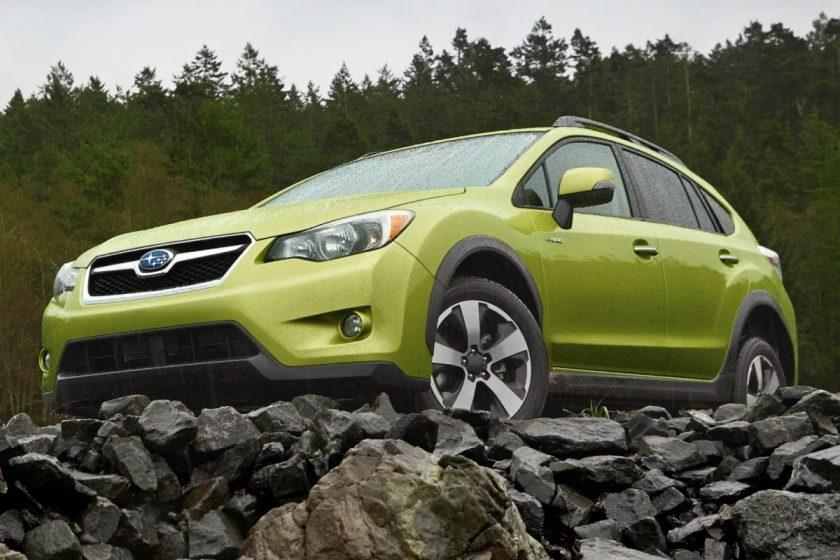2014 Subaru XV Crosstrek Hybrid/Images courtesy Subaru