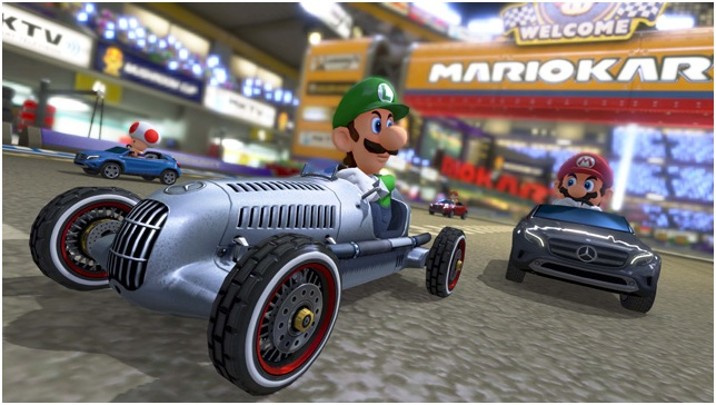 """Gear up for the """"Mercedes Cup"""" Mario Kart 8 Tournament"""