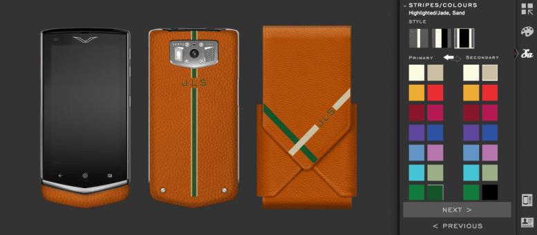 Here's Your Chance to Design Your Own Vertu Monogram Constellation  Here's Your Chance to Design Your Own Vertu Monogram Constellation  Here's Your Chance to Design Your Own Vertu Monogram Constellation  Here's Your Chance to Design Your Own Vertu Monogram Constellation