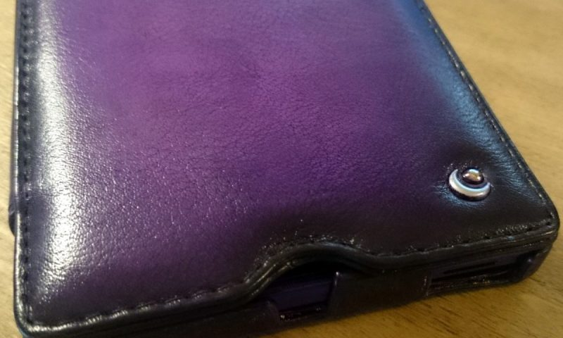 Gear Diary reviews the Noreve Sony Xperia Z Ultra Leather Case in Violet Patine.35-001