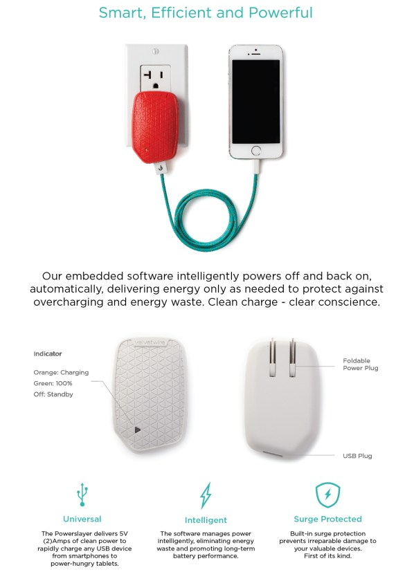 Velvetwire Powerslayer Blu: A Most Beautifully Intelligent Charger