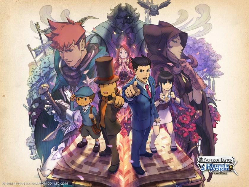 Professor Layton vs Phoenix Wright Ace Attorney Review on Nintendo 3DS