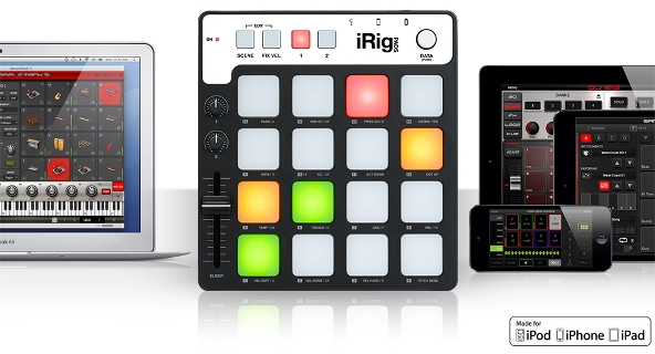 iRig Pads from IK Multimedia Now Shipping for $149.99!