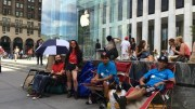The Real Story About All Those People in Line for an iPhone 6
