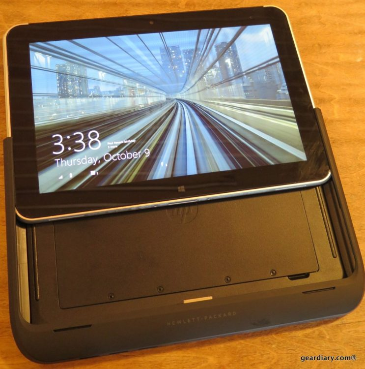 GearDiary The HP ElitePad 1000 G2 Tablet and Expansion Jacket with Battery Review