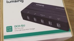 Lumsing 5 Port USB Travel Charger Review