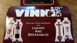 Travel with the VinniBag, and Get Your Wine Home Intact!