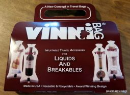 Travel with the VinniBag, and Get Your Wine Home Intact!  Travel with the VinniBag, and Get Your Wine Home Intact!