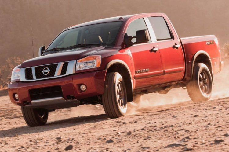 2014 Nissan Titan PRO-4X/Images courtesy Nissan