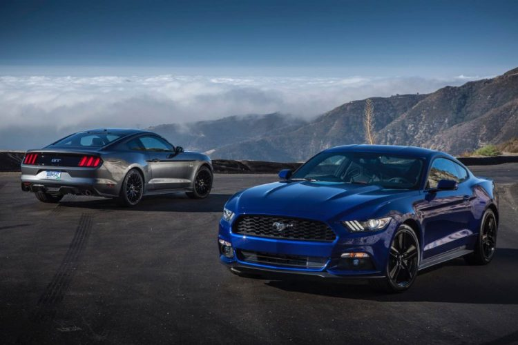2015 Ford Mustang GT/Images courtesy Ford