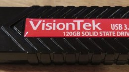 VisionTek USB 3.0 120GB Solid State Drive Review: Portable Convenience
