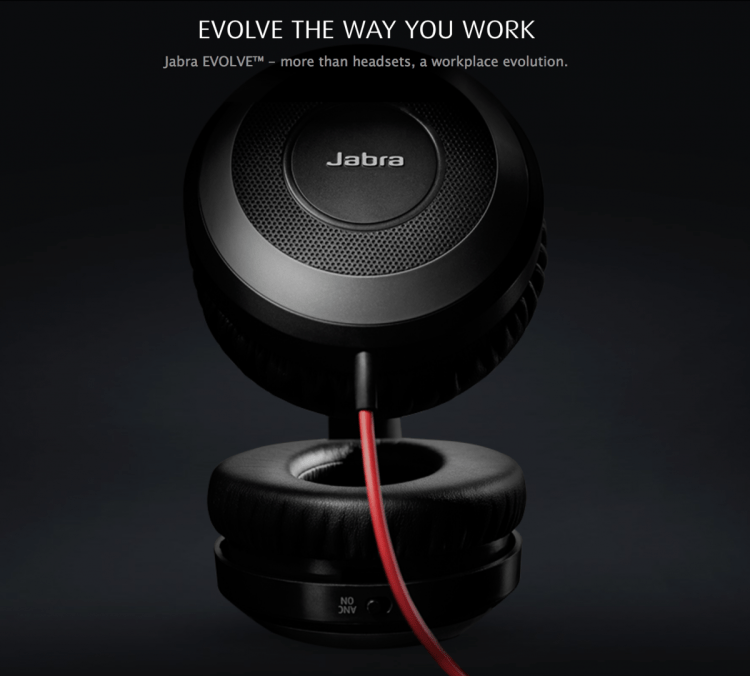 Jabra Evolve 80 Headset Is All Work And All Play