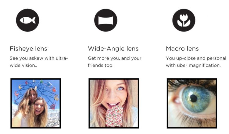 GearDiary OlloClip Selfie 3-in-1 Photo LensExpress
