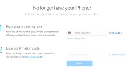 Finally - Apple Introduces Online iMessage Deregistration Tool