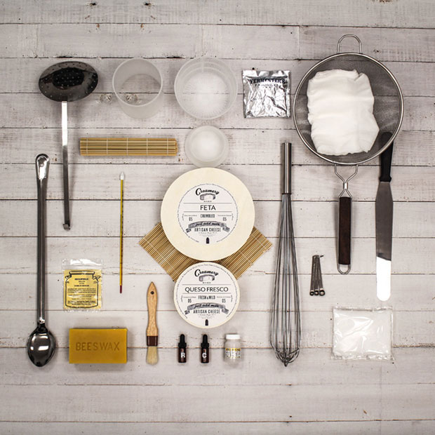 GearDiary Northern Brewers Creamery in a Box Cheesemaking Starter Kit - Blessed Are the Cheesemakers