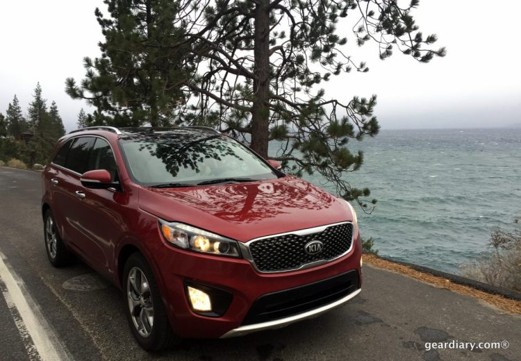 Gear Diary Covers the 2016 Kia Sorento Press Introduction at Lake Tahoe.00