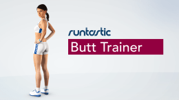 Runtastic Announces the Butt Trainer in Time for Those Holiday Pounds!