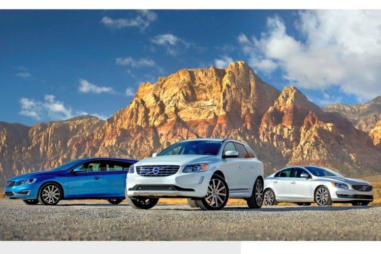 2015 Volvo V60, XC60 and S60/Image courtesy Volvo