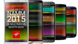 IK Multimedia will show Zero latency on Android at NAMM 2015!