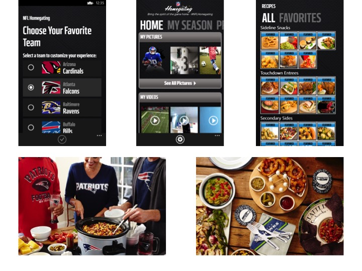 NFL Homegating App Is Ready for Your Super Bowl 49 Party!