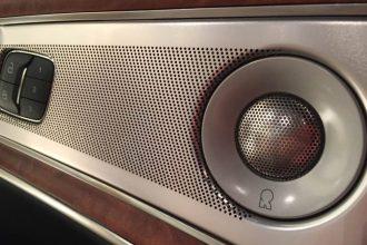 Revel speakers in Lincoln MKX