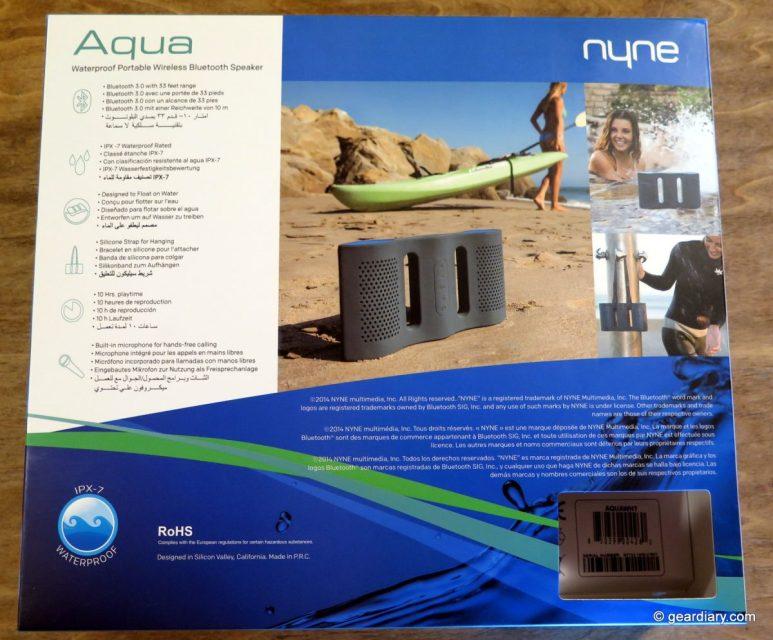 NYNE Aqua Review: A Submersible Speaker Ready for Aquatic Fun!