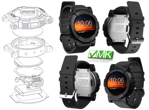 Omate Racer X VMK Will Be the First Smartwatch made in Africa