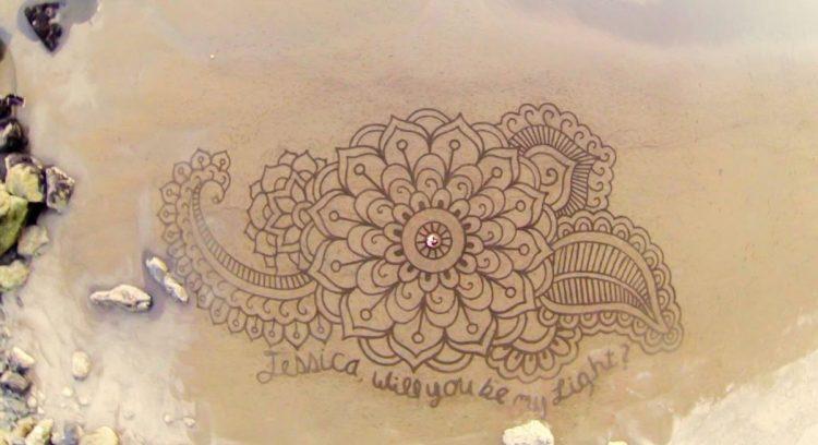Sand Sign Art