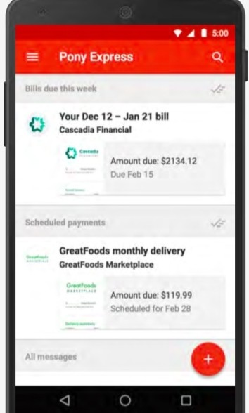 Google Wants You to Pay Your Bills Through Their New Gmail Pony Express
