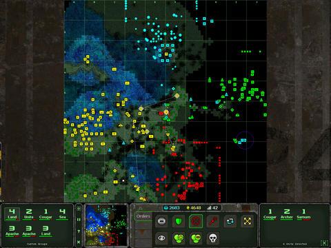 Land Air Sea Warfare SS3 Real-Time Strategy