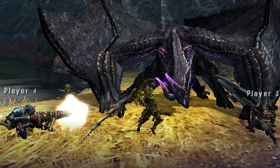 Six Flags' Magic Mountain Coaster Gets 'Monster Hunter 4 Ultimate' Treatment