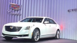 2016 Cadillac CT6 Debuts in New York City