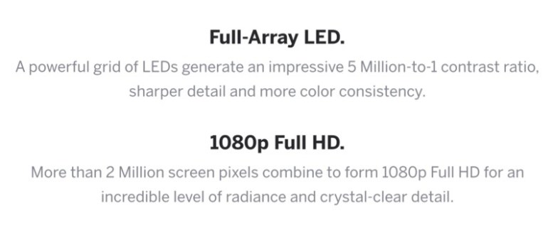 GearDiary VIZIO E-Series of Televisions Are Big on Smarts, Small on Price