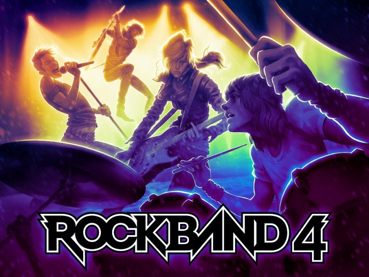 GearDiary Rock Band 4 Coming to Next-Gen Gaming Consoles