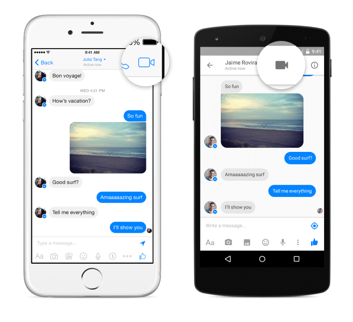 Facebook Introduces Video Calling for Messenger