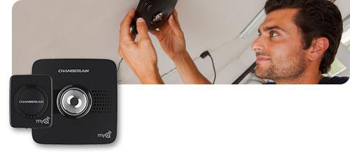 Open Your Garage using Chamberlain's WiFi SmartPhone Garage Door Opener