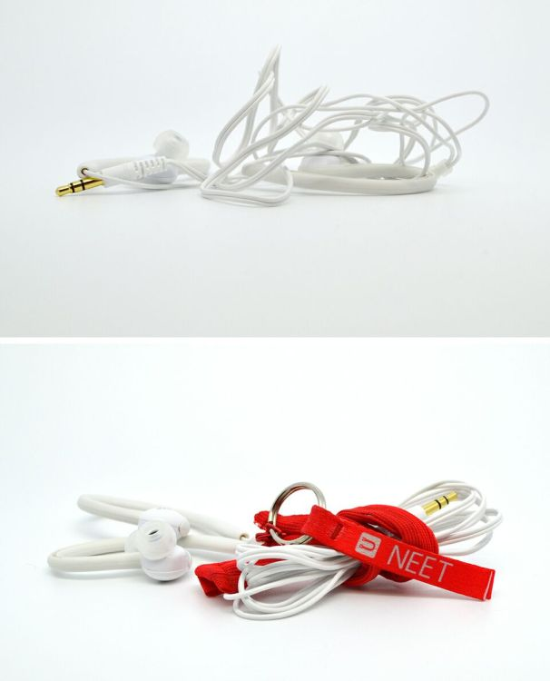 Keep Your Earbuds NEET And Tangle Free With This Cable Keeper
