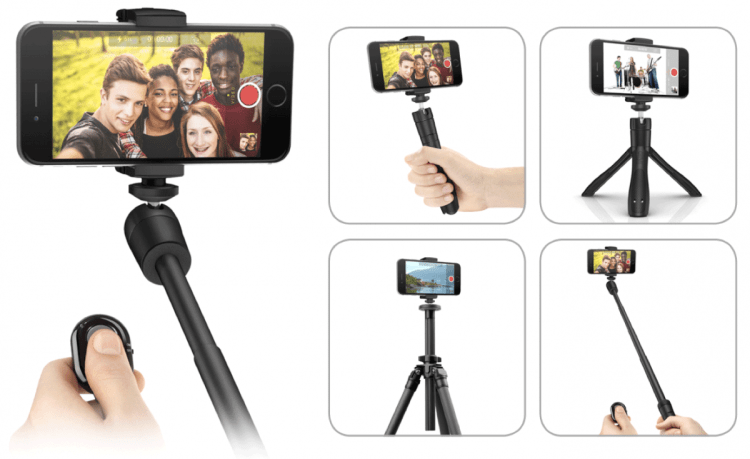 IK Multimedia Introduces iKlip Grip, Video Stand with BT Shutter Control