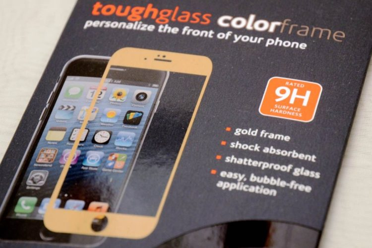 Ventev Toughglass Colorframe: Stylish Protection for your iPhone 6