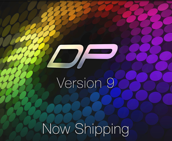 Mark of the Unicorn Shipping Digital Performer 9 for Mac and PC!