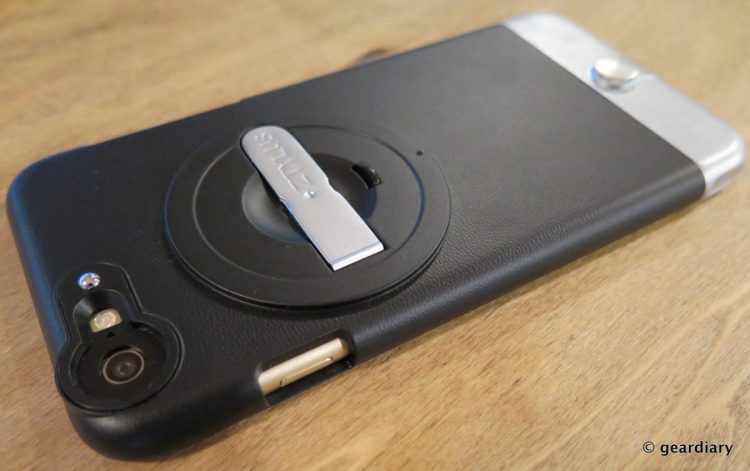 GearDiary Ztylus Case with Revolver 4 in 1 Interchangeable Lens: iPhone Photography Perfected