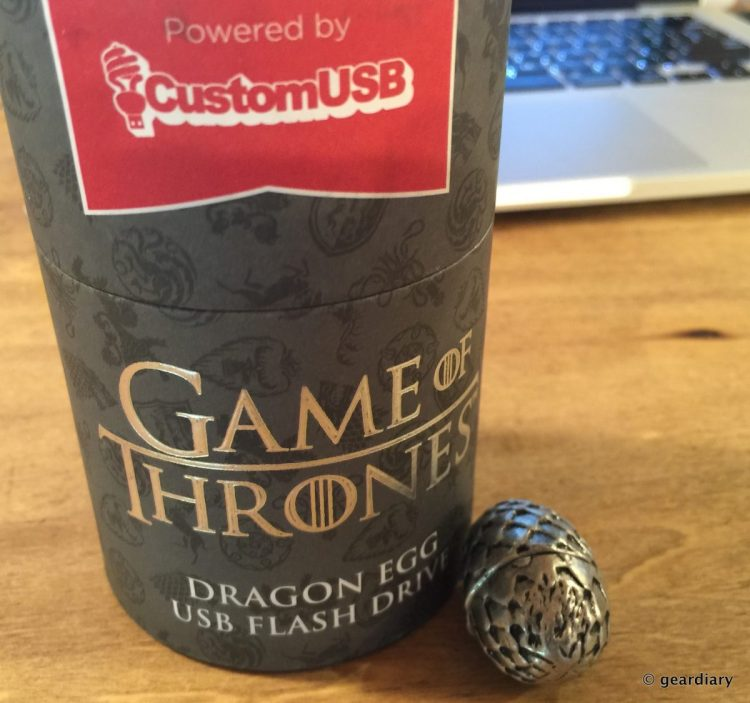 GearDiary CustomUSB Makes Flash Drives for the Game of Thrones (and Other Shows) Fan in You