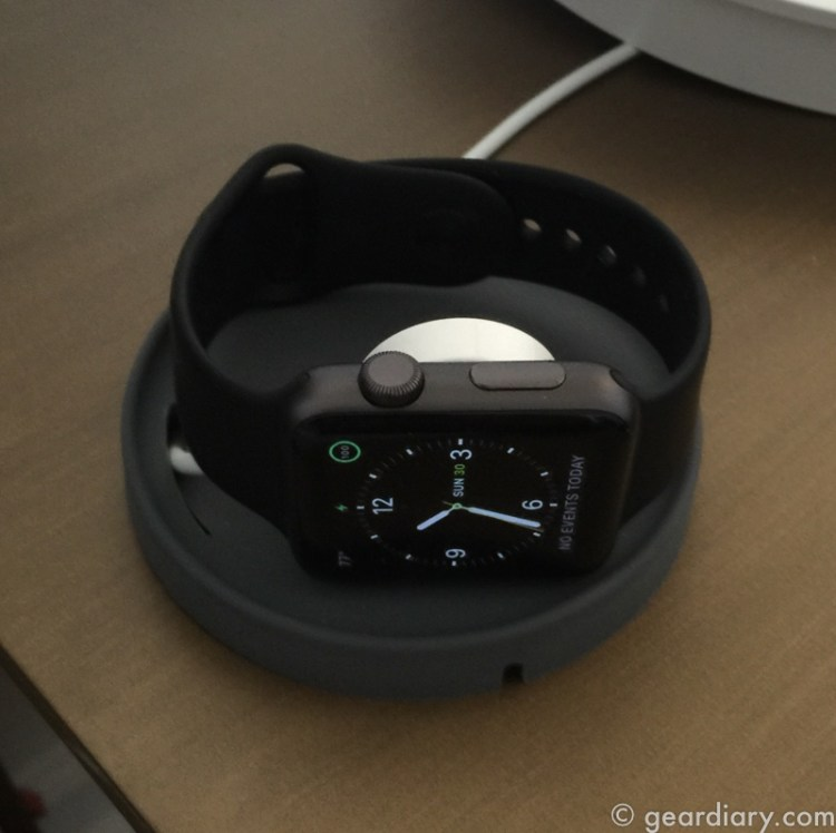 Bluelounge Kosta Is a Charging Coaster for Your Apple Watch