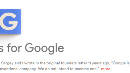 Google Restructures, Reinvents and Renames Themselves