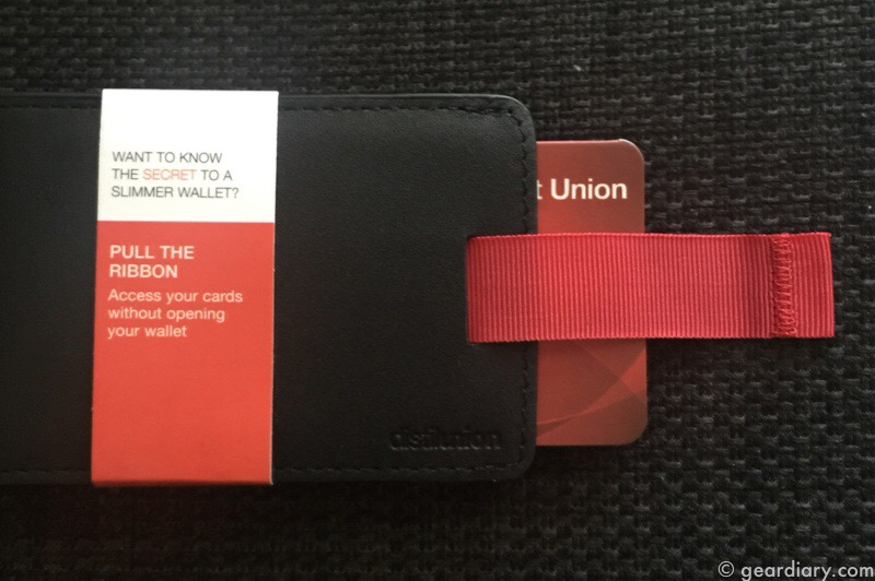 The Distil Union Wally Bifold Wallet Is Minimalist Without the Minimal