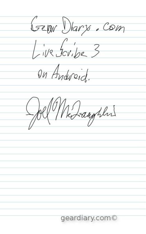 Livescribe 3 Journal 1