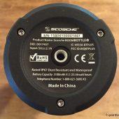 Scosche BoomBOTTLE+ Waterproof Wireless Speaker: Outdoor Music Needs Met