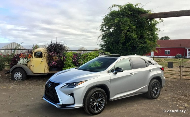 31-Gear Diary Test Drives the 2016 Lexus RX.13 HDR